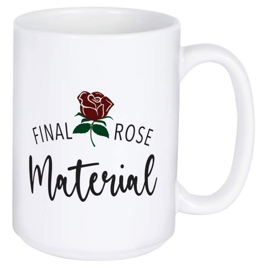Carson Mug   Final Rose Material