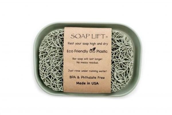 Soap Lift Dish   Sage