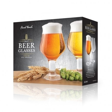 Final Touch | Craft Beer Glasses (Set of 2)