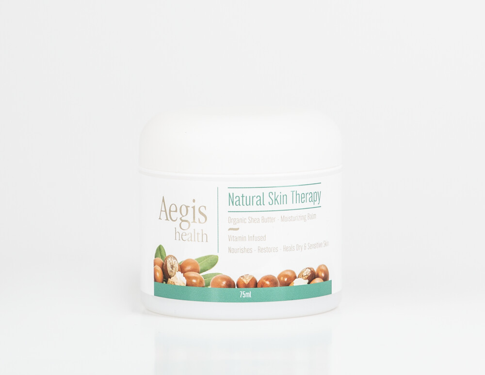 Aegis   Natural Skin Therapy with Shea Butter 75ml