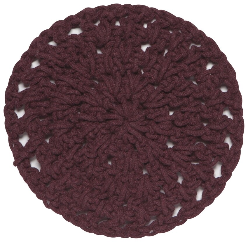 Now Designs Knotted Trivets - Wine