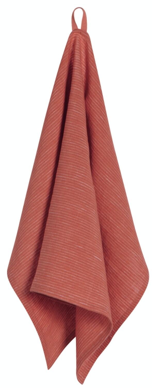 Now Designs Heirloom Linen Tea Towel | Clay