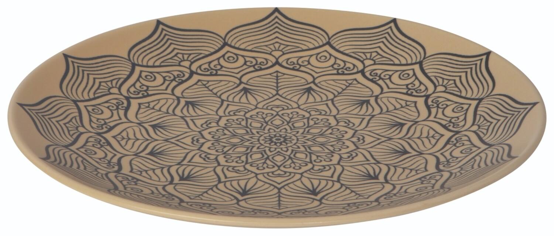"Now Designs 8.5"" Stamped Plate | Mandala"