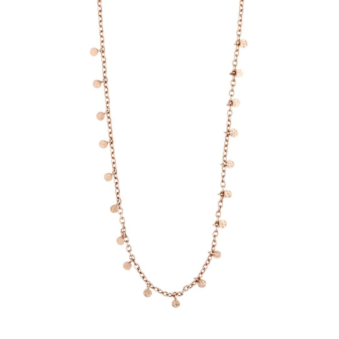 Pilgrim Rose Gold Panna Necklace