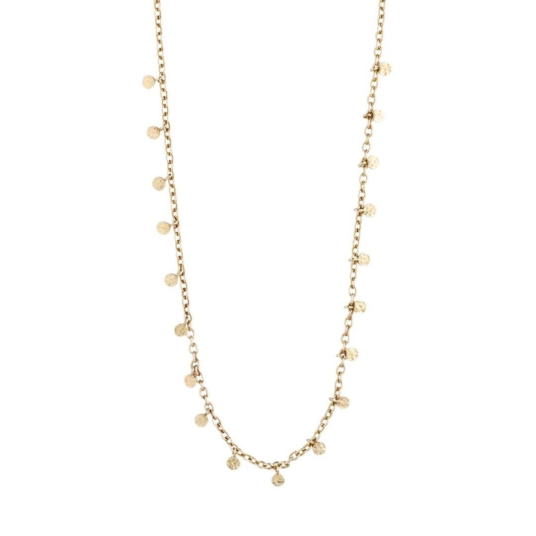 Pilgrim Gold Panna Necklace