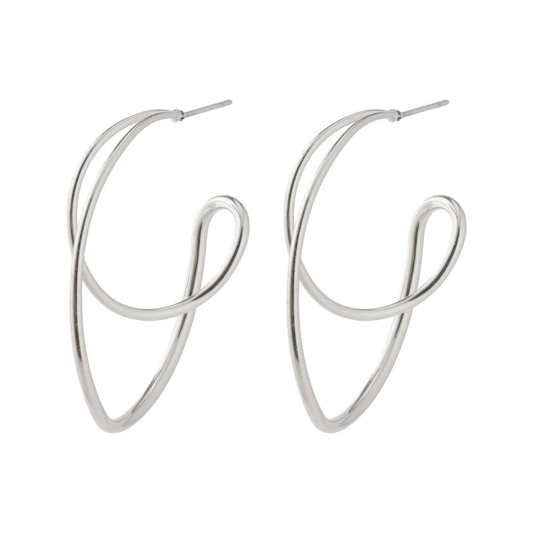 Pilgrim Silver Miller Earrings