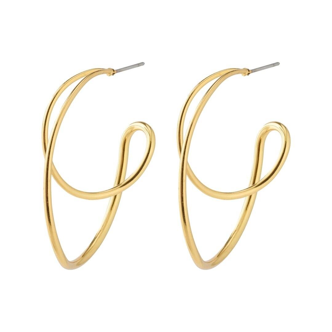 Pilgrim Gold Miller Earrings