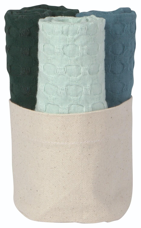 Now Designs Mercantile Dishcloths (Set of 3) | Pine