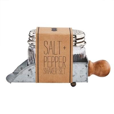 MudPie   Scoop Salt & Pepper Set