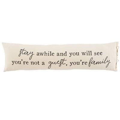 MudPie   Guest Long Pillow