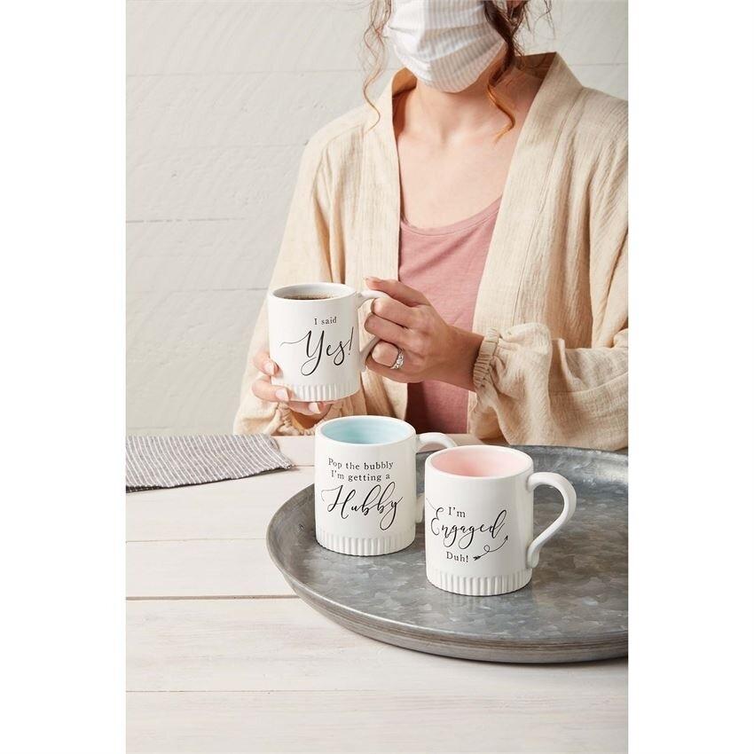 MudPie | Engaged Mugs