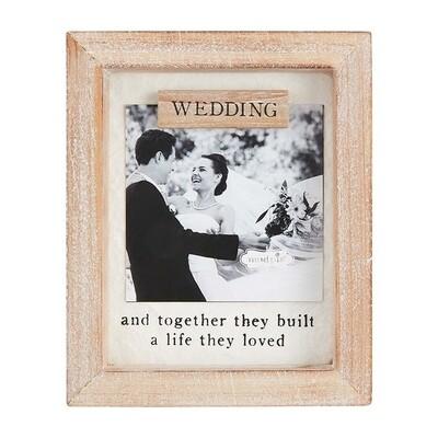 MudPie   Wedding Magnet Frame