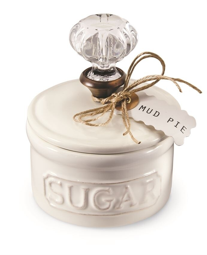 MudPie   Door Knob Sugar Bowl