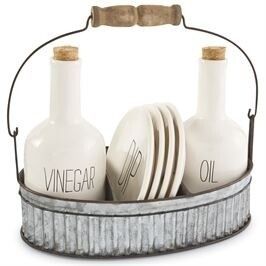 MudPie   Oil & Vinegar Appetizer Set