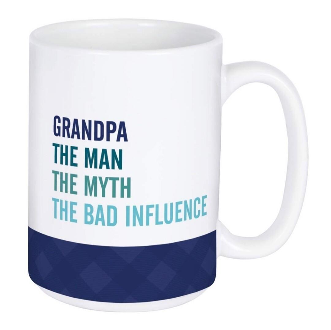 Carson Mug   Grandpa/Bad Influence