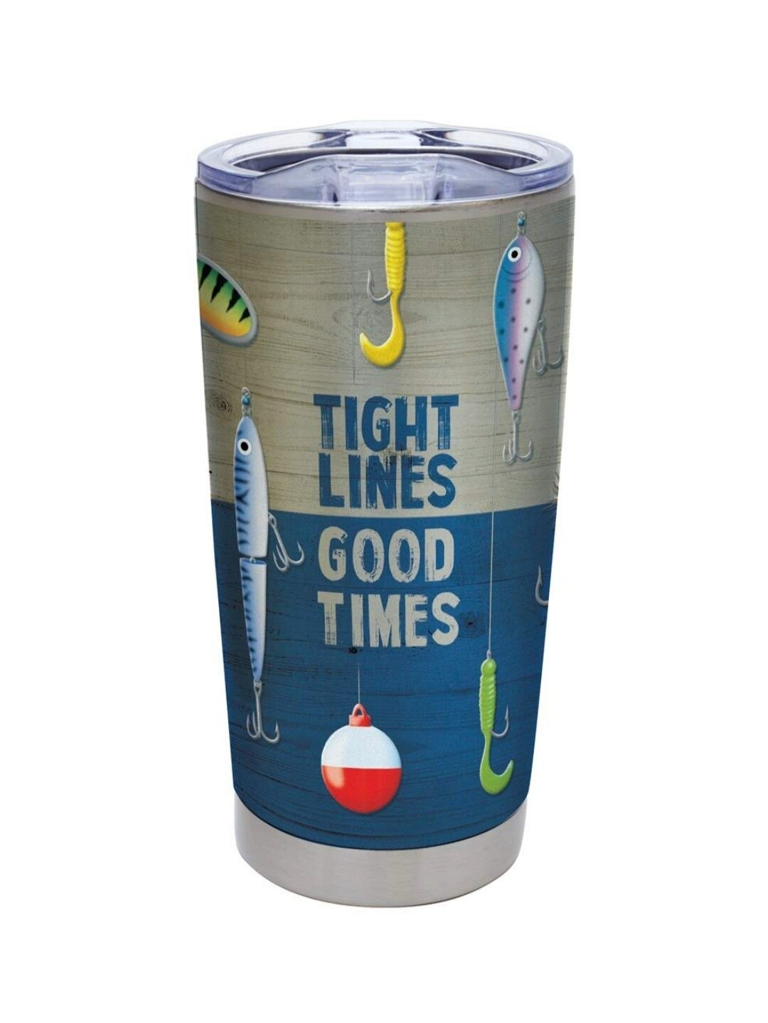 Carson 20oz Stainless Steel Tumbler - Tight Lines, Good Times