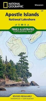 Apostle Islands Map