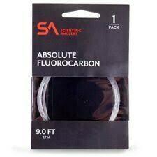 SA Absolute Fluorocarbon 1pk 9'