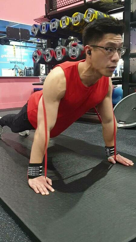 20kg Premium RED Resistance Band & Workout Guide