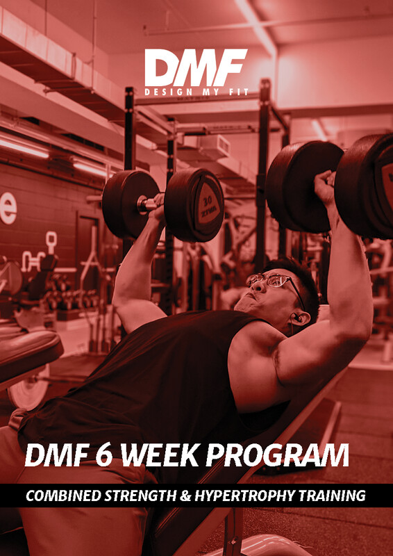 6 Week Strength & Hypertrophy Program (2, 3 or 4 days per week included)