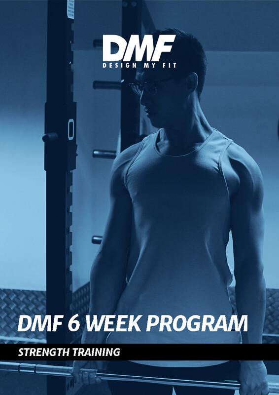 6 Week Strength Program (2, 3 or 4 days per week included)