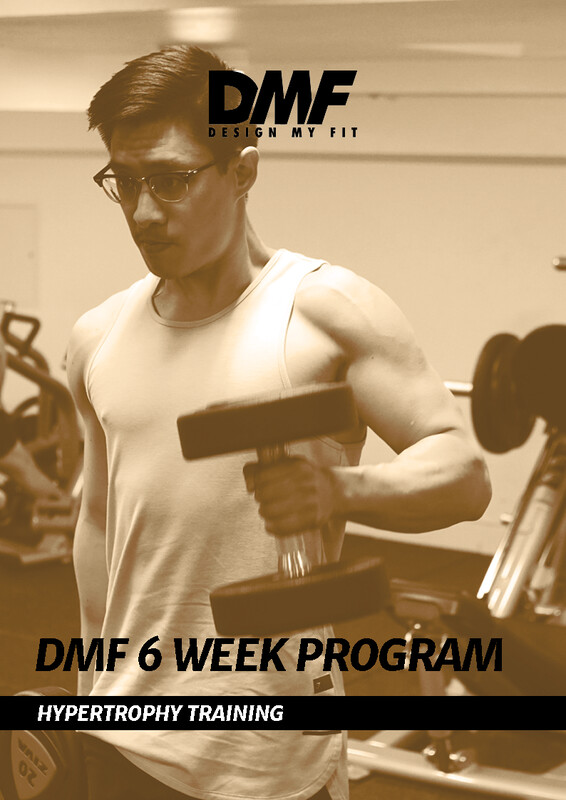 6 Week Hypertrophy Program (2, 3 or 4 days per week included)