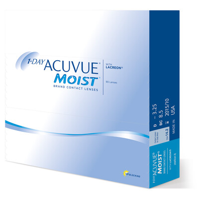 1-DAY ACUVUE® MOIST 90 LENS BOX
