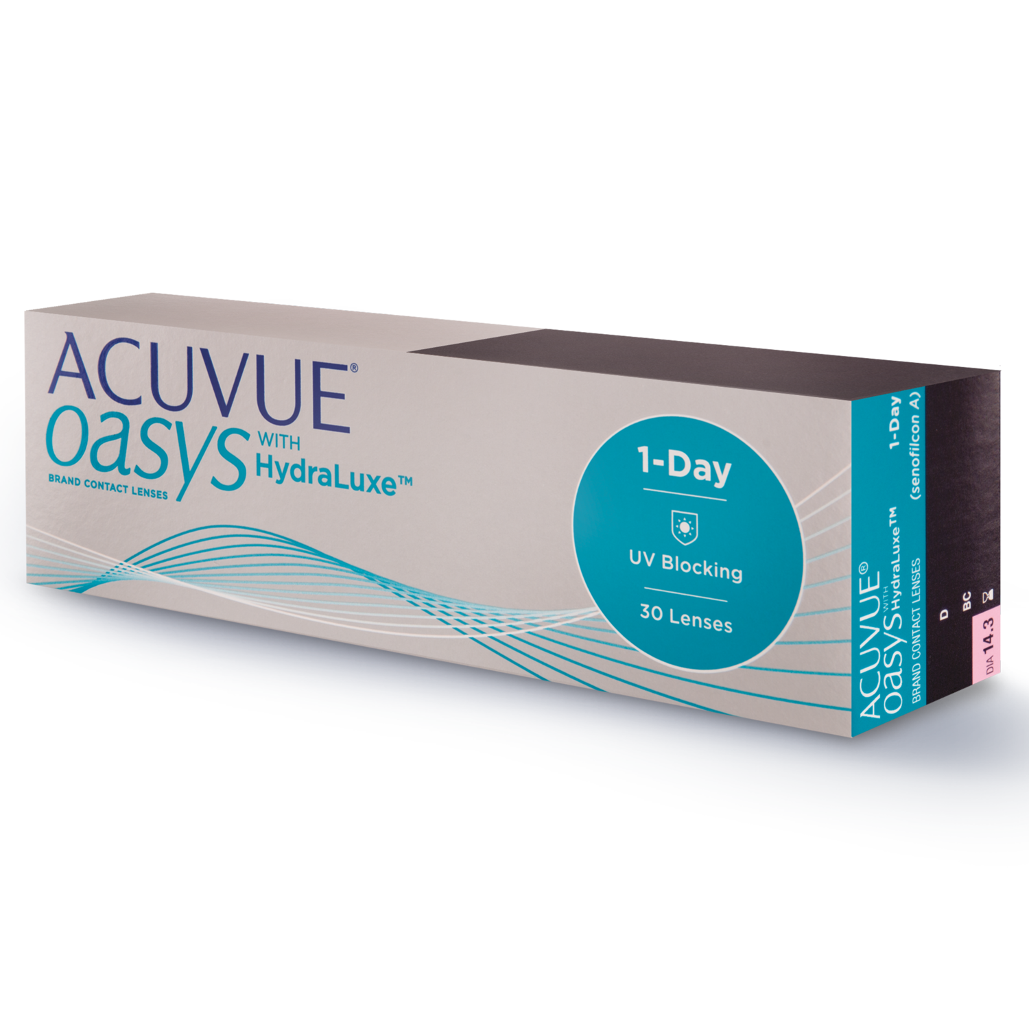 ACUVUE OASYS® 1-Day with HydraLuxe™ 30 LENS BOX
