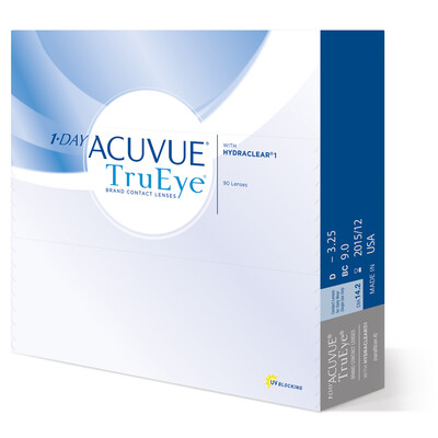 1-DAY ACUVUE® TRUEYE® 90 LENS BOX