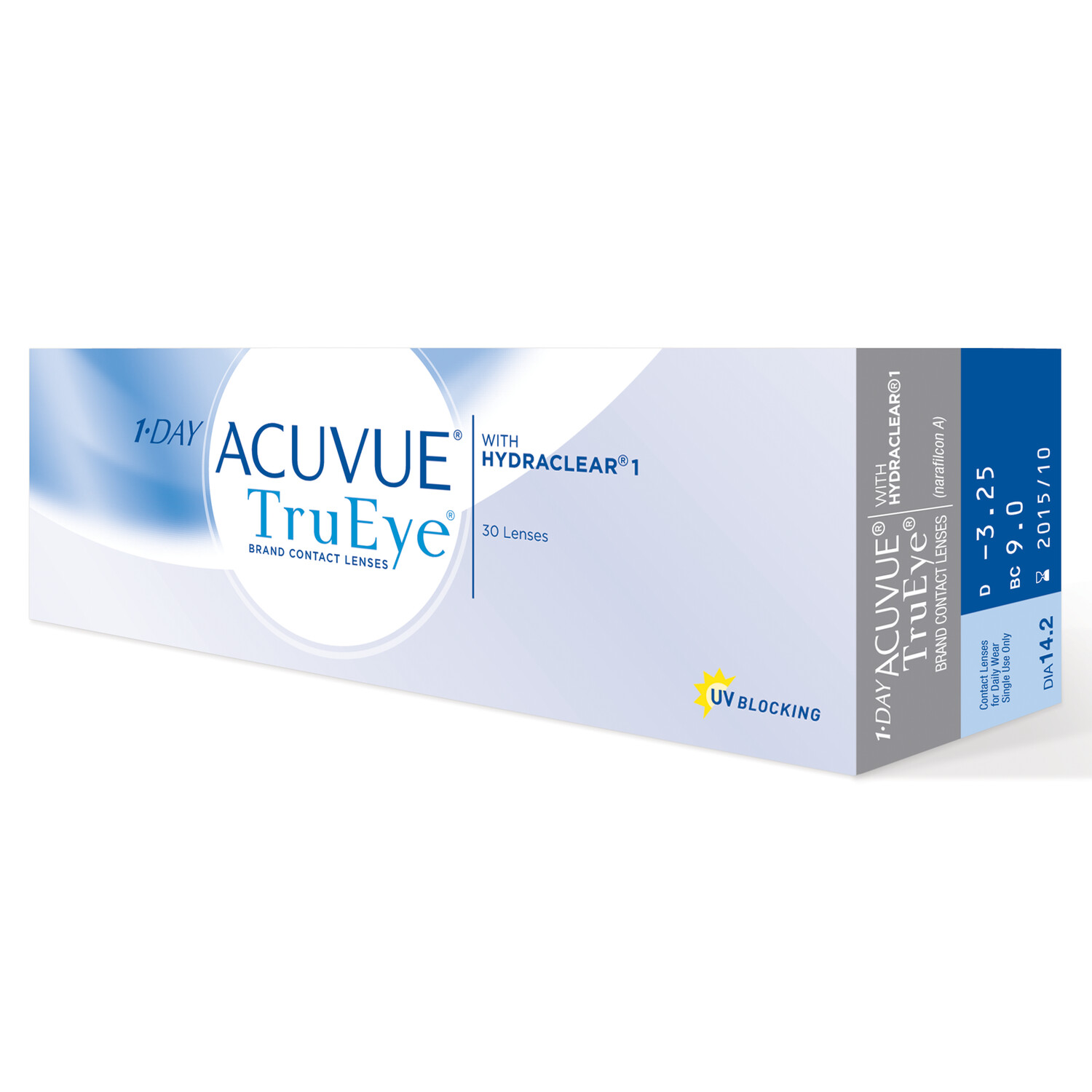 1-DAY ACUVUE® TRUEYE® 30 LENS BOX