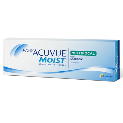 1-DAY ACUVUE® MOIST MULTIFOCAL 30 LENS BOX