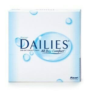 FOCUS® DAILIES® All Day Comfort™ 90 LENS BOX