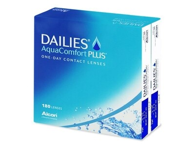 DAILIES® AquaComfort PLUS® 180 LENS BOX
