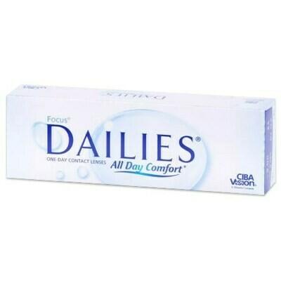 FOCUS® DAILIES® All Day Comfort™ 30 LENS BOX