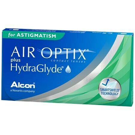 AIR OPTIX® plus HydraGlyde® for ASTIGMATISM 6 LENS BOX