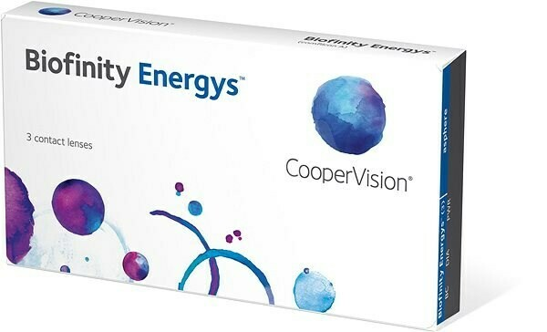 Biofinity® Energys™ 3 LENS BOX