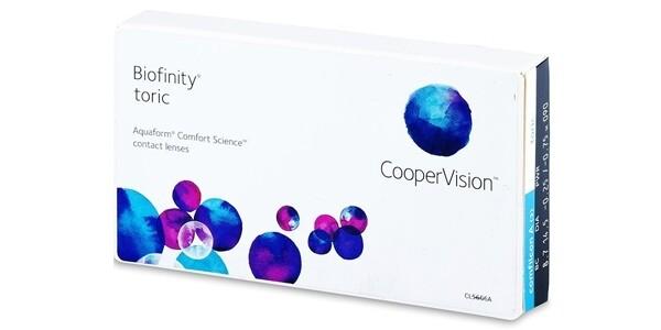 Biofinity® toric 3 LENS BOX