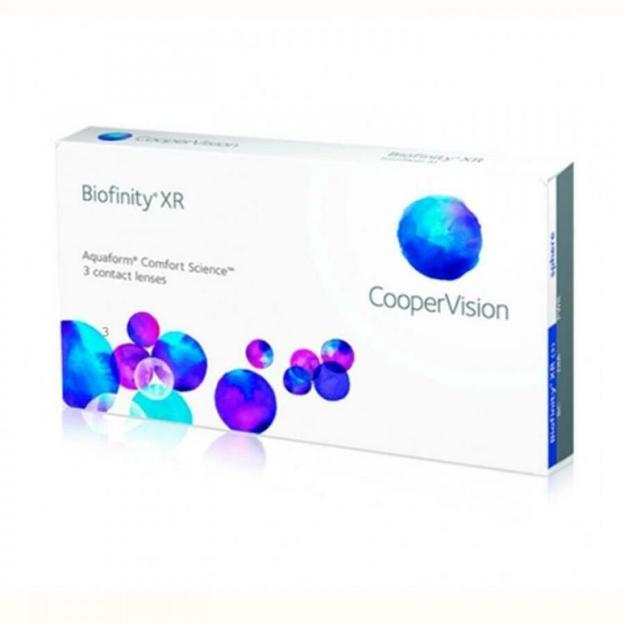 Biofinity® XR 3 LENS BOX