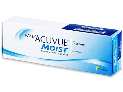 1-DAY ACUVUE® MOIST 30 LENS BOX