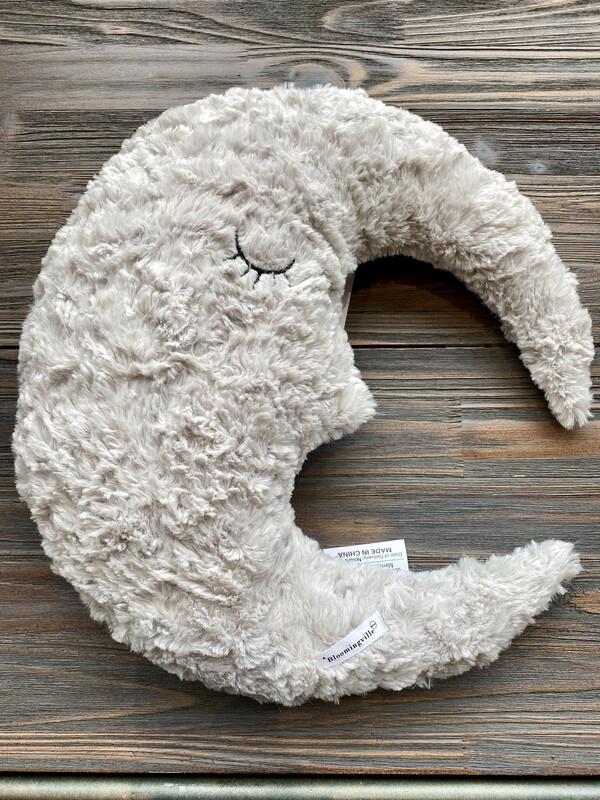 Fabric Moon Pillow