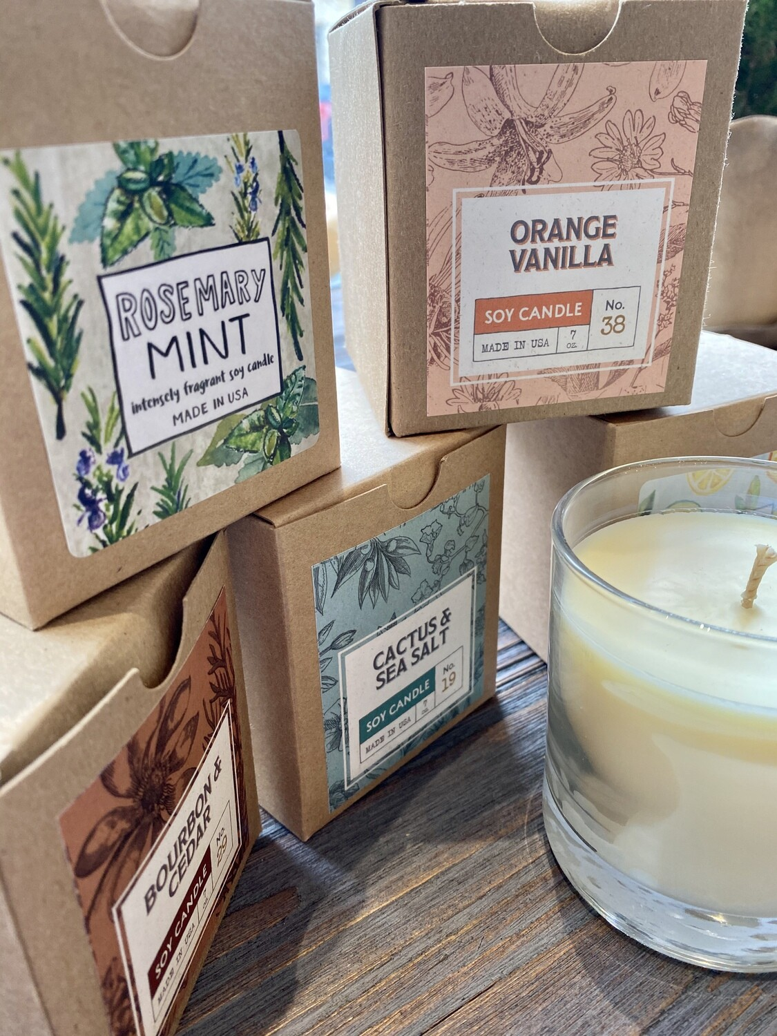 Flaire Boxed Candle