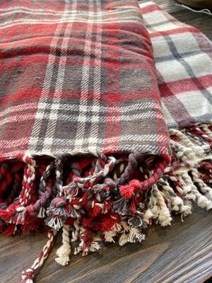 2019 Flannel Plaid Throws