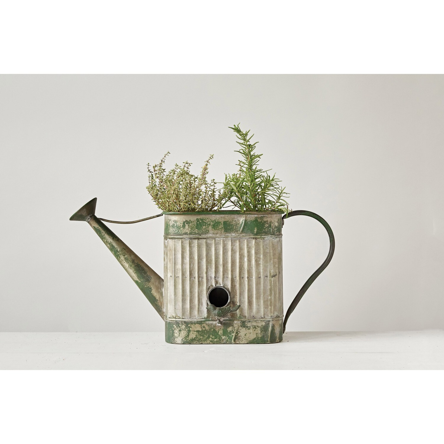 Birdhouse/Watering Can Planter