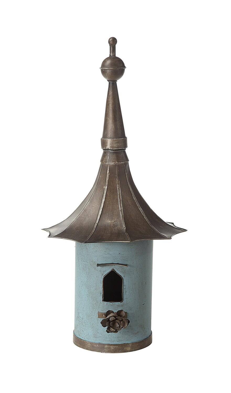 Decorative Metal Birdhouse