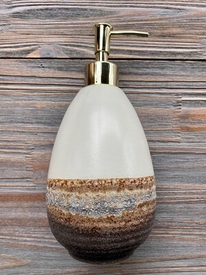 Ombré Glazed Soap Dispenser