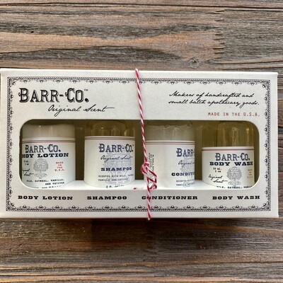 Barr Co. Original Bath & Body Gift Set