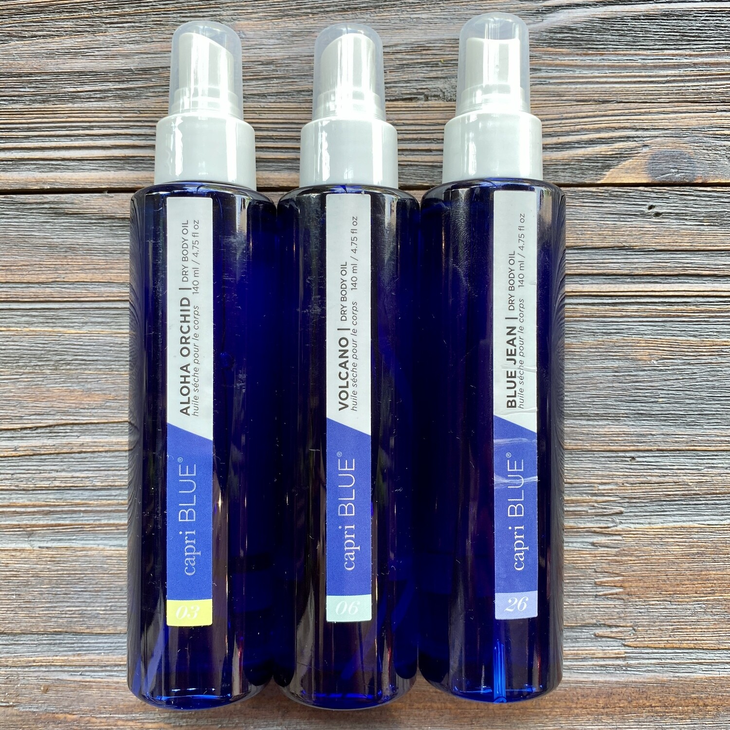 Capri Blue Dry Body Oil