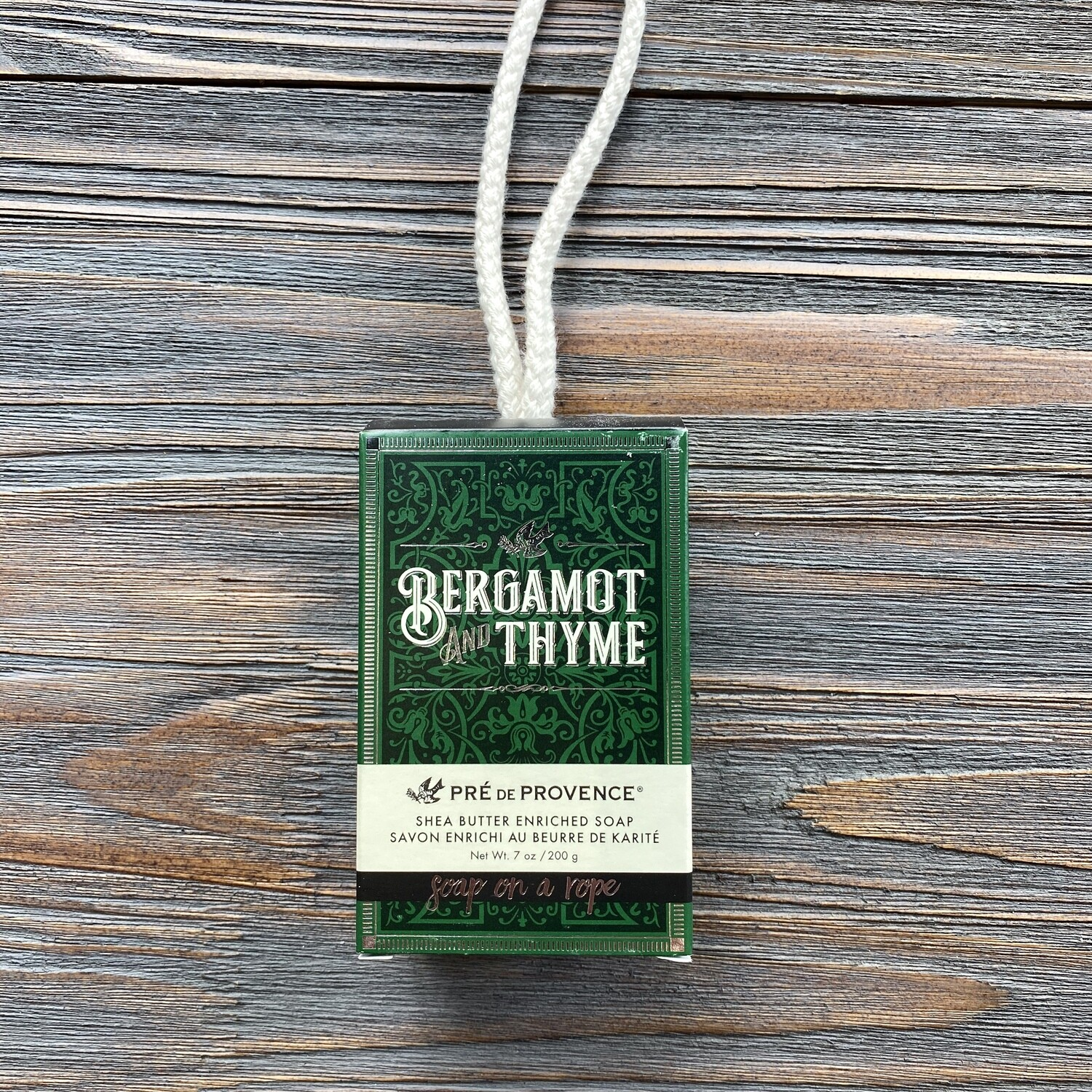 Bergamot And Thyme Soap On A Rope for Men