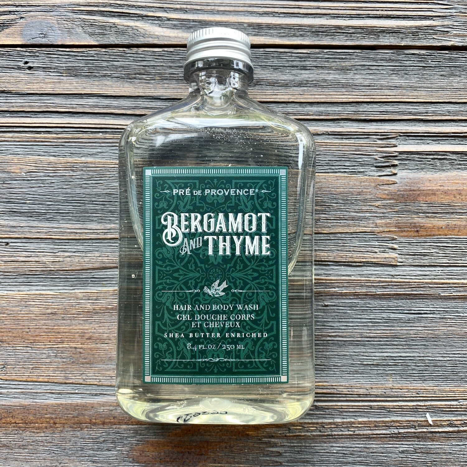 Bergamot And Thyme Hair & Body Wash for Men