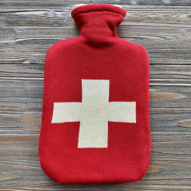 Swiss Cross Water Bottle Heater